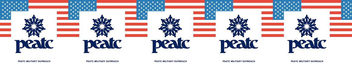image with PEATC logo and US Flag