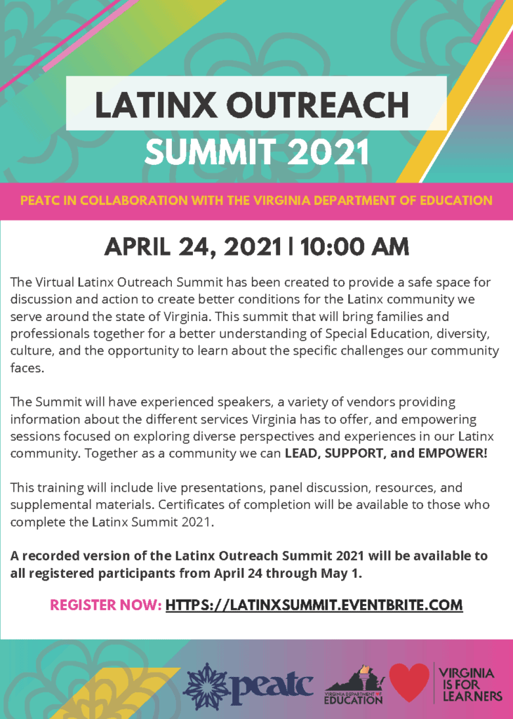 Latinx Outreach Summit (ENG)