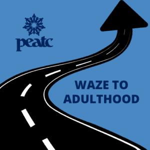 WAZE to Adulthood Logo